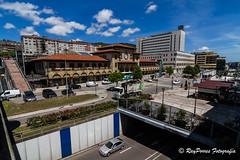 Estacion de RENFE en la Calle de Uria de Oviedo, Principado de Asturias, Espaa. (RAYPORRES) Tags: espaa asturias julio oviedo 2016 principadodeasturias estacionderenfe calledeuria