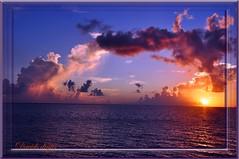 Sunrise and Rain cloud (David's digits) Tags: morning reflection clouds sunrise indianriver spacecoast titusvilleflorida naturesartwork