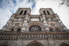 Notre-Dame (dslaviero81) Tags: city travel sunset sky david paris france building tower church station architecture digital canon lens photography europe cathedral metro eiffel notredame 5d fullframe parisian vitral 24105 llens slaviero 25105mm 5dmarkii 5dmk2 5dmark2