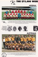 The $75000 World Of Soccer Cup - 1977 - Page 20 (The Sky Strikers) Tags: world red cup star official soccer australia souvenir tournament celtic belgrade arsenal intercontinental programme the 75000 of