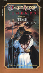 Novel-Weis&Hickman-Time-of-the-Twins (Count_Strad) Tags: dragons adventure elf fantasy novel dungeons tsr dragonlance