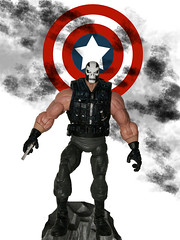 Cap'N'Bones (danlogan49) Tags: crossbones marvel