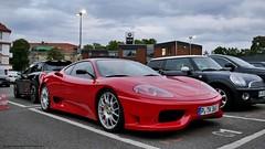 Ferrari 360 Challenge Stradale (mwalenczewski) Tags: street berlin 360 ferrari supercar challenge stradale supercars ferrari360 carspotting 360cs