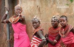 I saw you !  Je t'ai vue ! (Patricia Ondina) Tags: travel kenya ngc tradition ethnic samburu adornment ethnology eastafrica travelphotography traditionalclothing ethnologie parure ethnie costumetraditionnel afriquedelest