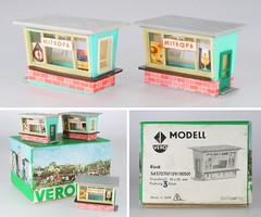 Vero 501 Kiosks (adrianz toyz) Tags: vero ddr gdr eastgermany ho 187 scale plastic model railway 501 mitropa dr adrianztoyz