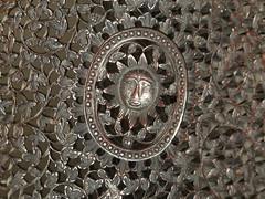 Tudor Sun (failing_angel) Tags: 130915 kent margate tudorhouse chair wood sixteenthcentury transitionalhouse medievalopenhall earlymodernhouse