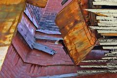 Falling apart 1 (cheryl.rose83) Tags: brick wood metal fallingapart