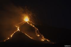 Erupting (GMphoto89) Tags: light italy black nature yellow rock landscape volcano rocks italia power earth natura sicily geology etna eruption sicilia vulcano geologia eruzione