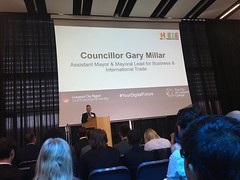 Compere – Gary Millar – Asst. Mayor and Mayoral Lead for Business & International Trade