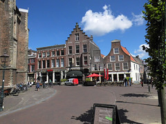 Houses near the Saint Bavochurch in Haarlem (Beyond the grave) Tags: houses haarlem netherlands northholland