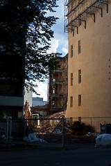 Suomen Trikoo 08/2016 (location: unknown) Tags: buildings deconstruction demolition europe finland living places purkaminen tampere tampereenpuolari underconstruction