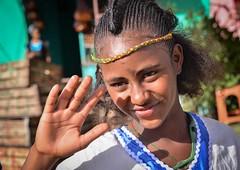 Tigray Girl (Rod Waddington) Tags: africa african afrika afrique adigrat ethiopia ethiopian ethnic etiopia ethnicity ethiopie etiopian thiopien tigray ashenda festival female traditional tribal portrait people outdoor hand costume