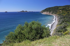 Raoul Island - looking back to the landing site (cathm2) Tags: newzealand kermadecs raoul island travel coast water sea shore