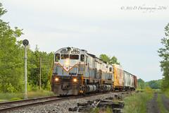 DL MLW M636 #3643 @ Covington Twp, PA (Darryl Rule's Photography) Tags: alco alcos c636 cp canadianpacific dl delawarelackawanna erielackawanna freight freighttrain gouldsboro lackawanna lake lehighrd m636 mixedfreight pa pc penncentral pennsylvania poconomain poconosummit poconos shortline station tobyhanna train trains westbound