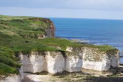 Cliffs (Halliwell_Michael ## More off than on this week #) Tags: blue sea sky coast landscapes rocks cliffs shore northsea coastline eastyorkshire 2016 flamborough nikond40x