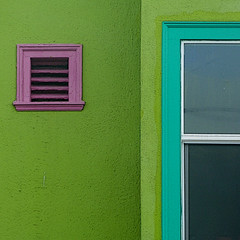by the sea V (msdonnalee) Tags: green window facade ventana vent architecturaldetail limegreen fenster chartreuse minimalism fachada fentre faade minimalisme minimalismus facciate