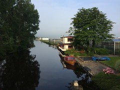 """""""Good Luck"""" (peter bromley 1) Tags: goodluck houseboat greenhouse canal netherlands valkenburg"""