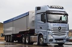 SV16KVM  W Taylor & Sons, Findochty (highlandreiver) Tags: sv16kvm sv16 kvm w taylor and sons findochty buckie scotland scottish mercedes benz truck lorry haulage wagon bulk freight langwathby penrith cumbria