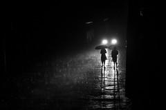 It's raining (hasibulalam25) Tags: night rain light walk women