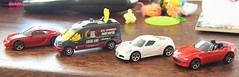 I'm very happy- my new 1/64 additions (Calum's 999 & Transport Photography) Tags: matchbox mazda ford alfaromeo diecast porsche