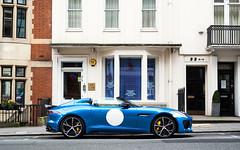 Project 7. (Alex Penfold) Tags: jaguar project 7 supercars supercar super car cars autos alex penfold 2016 blue mayfair