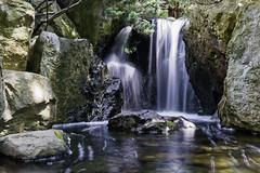 Little Waterfall  (Alpha 2008) Tags:               japan hokkaido sapporo park japanesegarden nature waterfall water rocks landscape longexposure sony 35mm
