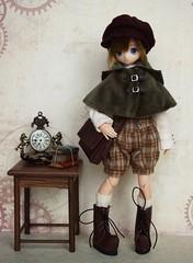My Mr. Holmes (Emily-Noiret) Tags: azone doll anime boy sherlock holmes detective yuta