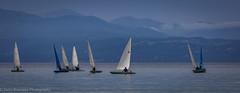 Sailing at Vassiliki (Debs Bowness Photography) Tags: bluesea mediterranean greece vassiliki cove clearsky waves rocks greekisland