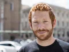 Andrea Paolozzi (elparison) Tags: red redhair redhead boy portrait ritratto eyes occhi blueyes
