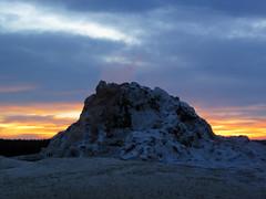 White Dome Geyser (sunset, 8 June 2016) 4 (James St. John) Tags: white dome geyser group lower basin yellowstone hotspot volcano wyoming sunset