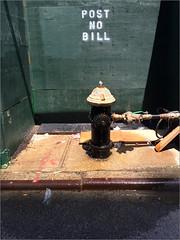 W29 (Chris Protopapas) Tags: newyorkcity hydrant street leak postnobill iphone