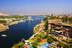 42-16719643 (rivnepost) Tags: africa aswan aswangovernorate egypt hotel landforms lodgings middleeast naturalworld nileriver nobody oldcataracthotel river travel viewfromabove water