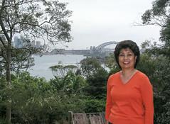 Angie at the Zoo - Sydney Day 4 - Toronga Zoo (gttexas) Tags: 2009 angie australia cruise harrison starprincess sydney tarongazoo