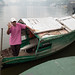 Kuching river taxi boatman