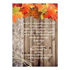 (Fall Wedding Invite) #Bride, #Ceremony, #Engaged, #Fall, #Groom, #Plans, #Reception, #Wedding is available on Custom Unique Wedding Invitations store http://ift.tt/2b2l9Zp (CustomWeddingInvitations) Tags: fall wedding invite bride ceremony engaged groom plans reception is available custom unique invitations store httpcustomweddinginvitationsringscakegownsanniversaryreceptionflowersgiftdressesshoesclothingaccessoriesinvitationsbinauralbeatsbrainwaveentrainmentcomfallweddinginvite weddinginvitation weddinginvitations