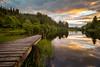 Loch Ard (Francis Mridha) Tags: beautifulscotland clouds francismridhaphotography landscape loch lochard longexposure nikon reflection scotland sunset travel tree uk visitscatland water westscotland