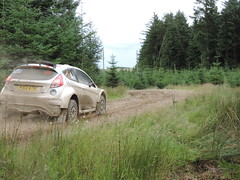 Grampian Stages Rally 2016 (RS Pictures) Tags: src scottish rally championship coltel grampian stages stage 2016 durris ss forest forestry road track special ss6 2 ford fiesta r5 motorsport auto