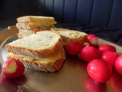 Radish and Bread (Quetzalcoatl002) Tags: radish bread food dish stilllife plate tasty radijs