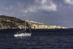 Sailing (Steve Millward) Tags: nikon nikkor d750 2470 fx fullframe stevemillward perspective interesting colour light mood moment malta europe mediterranean travel eu holiday vacation summer season scenic comino sea boat water sky cloud
