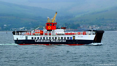 Scotland West Highlands Argyll car ferry Loch Ranza passing Dunoon 26 June 2016 by Anne MacKay (Anne MacKay images of interest & wonder) Tags: scotland west highlands argyll car ferry loch ranza passing dunoon caledonian macbrayne xs1 26 june 2016 picture by anne mackay