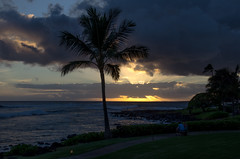 Hawaiin Sunset (wrgenec) Tags: sheraton hawaii kauai outdoor night sky sunset evening