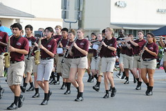 D3X_0520 (euthman) Tags: parade fortbendcountyfair georgeranchhighschool longhornmarchingband woodwind