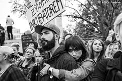 _ATI0999 (attila.husejnow) Tags: black protest blackmonday monday warsaw poland women woman abortion against demonstrate demonstration