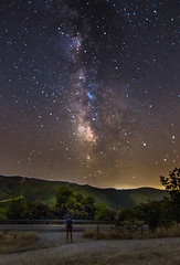 The countdown of the end of the Milky Way season has begun. (Vagelis Pikoulas) Tags: milky milkyway long exposure night nightscape canon 6d tokina 1628mm full frame space stars star galaxy landscape view porto germeno greece europe vilia 2016 selfshot selfie road street mountains mountain mount color colors colour colours darkness dark sky september autumn