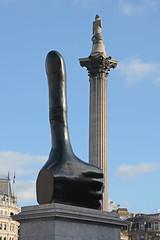 Really Good - David Shrigley (Peter Owen) Tags: david shrigley really good reallygood trafalgar square trafalgarsquare fourth plinth fourthplinth london