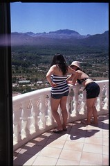 Spain 2016 - Retinette (Little Freak 2) - Jalon Valley - Lisa & Tess on the balcony (TempusVolat) Tags: picmonkey gareth wonfor tempusvolat garethwonfor tempus volat mrmorodo girls women woman girl beautiful summer balcony legs view scenery mountains spain 2016 wife sisterinlaw tanlines tanned tan lisa tess nokia lumia 1020 mobilephone short shorts style stylish elegant holiday spainholiday spain2016 vacance curves curved curvy pretty cute cutebum t shortpants