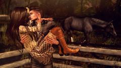 IASWAS autumn contest (meriluu17) Tags: zenith catwa couple hold love kiss outdoor horse scene people autumn fall