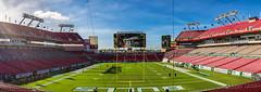 Tampa '16 (R24KBerg Photos) Tags: football stadium panorama panoramic nfl tampabay tampa florida usf southfloridabulls 2016 canon photomerge athletics college tampabaybuccaneers sports