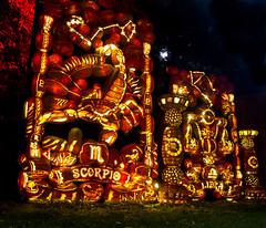2016-010-14 021 Pumpkin Inferno (boozysmurf) Tags: pumpkininferno halloween uppercanadavillage longexposure canong12 pumpkins thisishalloween ontario
