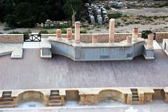 Teatro Romano (Vera Schuck Paim) Tags: teatro romano ruinas em cartagena espanha spain runa romanas colunas mrmore rosa jardins caminhos reconstruoes